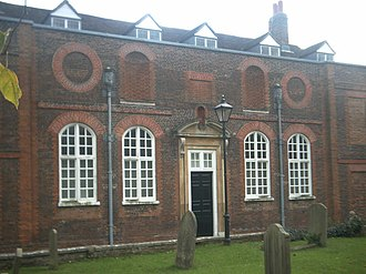 Buckinghamshire County Museum - The Old Aylesbury Grammar School building that now houses part of the museum