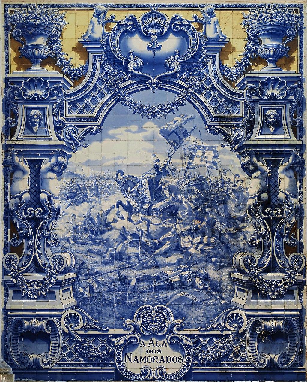 Historia del azulejo 2 los azulejos portugueses for Casa del azulejo