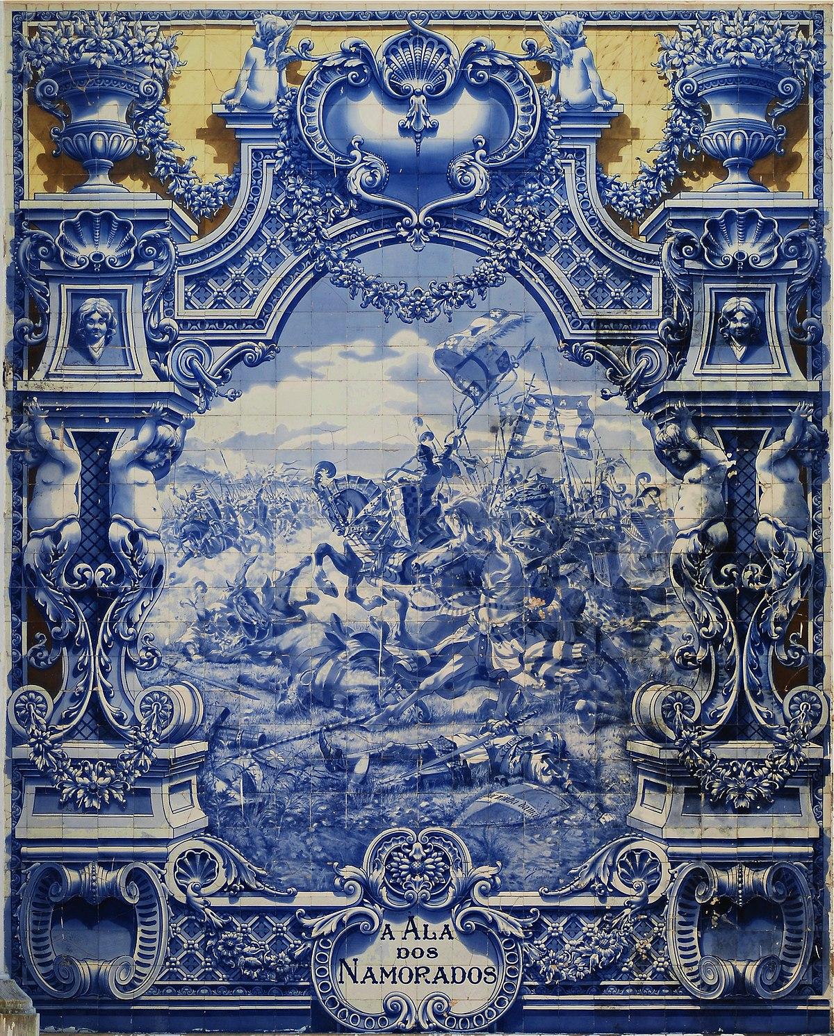 Azulejo wikip dia a enciclop dia livre - Pintar azulejo ...