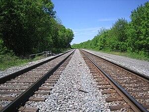 B&O Railroad South Branch Depot WV 2007 05 07 08