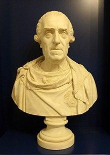 Büste vom Bildhauer Joseph Herrmann (1828) (Quelle: Wikimedia)