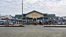 Bến đò Tân Long ở phường 1, nối với phường Tân Long qua sông Bảo Định.