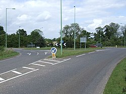 B1127, A146 Roundabout, North Cove - geograph.org.uk - 439861.jpg
