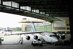 BAe 146, Brussels Airlines, Airport Berlin Tempelhof, 2004.JPG