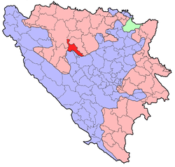 BH municipality location Knezevo.png