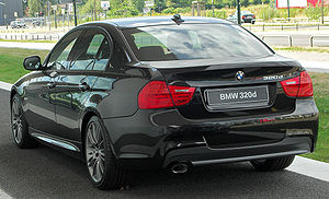BMW 320d Edition Sport (E90) Facelift rear 20100724.jpg