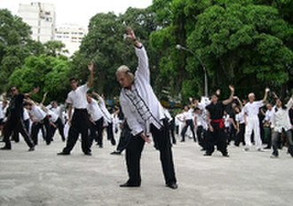 Orthopraxy - Qigong practitioners in Brazil