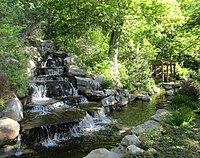 BYU waterfall and river (27555267627).jpg