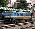BZA based WAG-7 loco - 28217 at Dumdum Station.jpg
