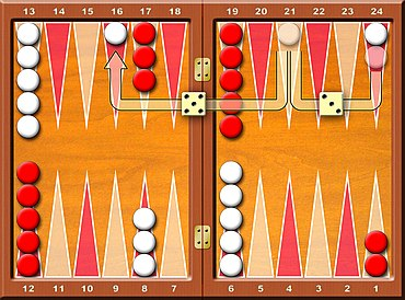 gioco backgammon da