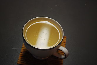 White tea - The visible white hairs are a unique characteristic of the Bai Hao Yinzhen tea