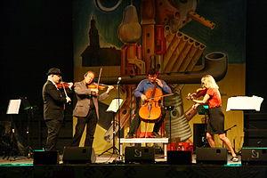 Balanescu Quartet - The Balanescu Quartet at TFF Rudolstadt 2013.
