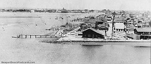 Balboa Island, Newport Beach - Balboa Island 1928