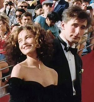 Jennifer Grey - Grey with William Baldwin at the 1988 Academy Awards