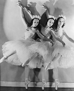 Ballet Russe de Monte Carlo - The company performs The Nutcracker in 1940.