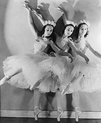 Ballet Russe de Monte-Carlo - The company performs The Nutcracker in 1940.