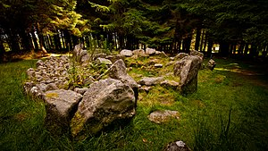 Two Rock - Image: Ballyedmonduff Wedge Tomb