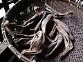 Banana peels dried to prepare Khar (Alkali).jpg