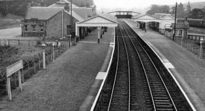 Banchory - Until 1966 Banchory had a railway station on the Aberdeen to Ballater line