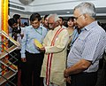 Bandaru Dattatreya visits after inaugurating the Exhibition cum Awareness Meeting on the initiatives of the Ministry of Labour and Employment, in New Delhi on May 25, 2015.jpg