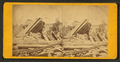 Bangor railroad disaster, from Robert N. Dennis collection of stereoscopic views.png