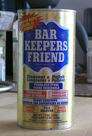 Bar Keepers Friend - Image: Bar Keepers Friend
