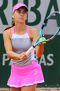 Irina Bara Romanian tennis player