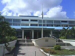 Monarchy of Barbados - The Queen Elizabeth Hospital, Bridgetown