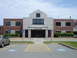 Barnstable High School entrance.jpg