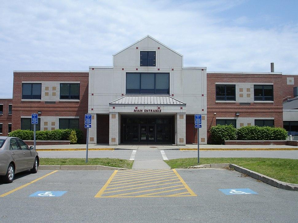 Barnstable High School entrance