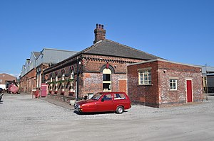 Barrow Hill Engine Shed - The roundhouse in March 2011