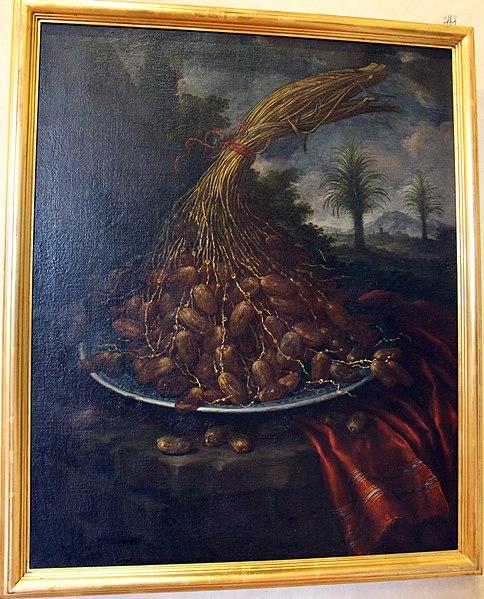 https://commons.wikimedia.org/wiki/File:Bartolomeo_bimbi,_datteri_su_un_piatto,_1720.JPG