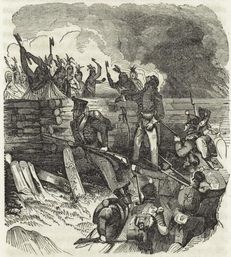 Battle Horseshoe Bend 1814