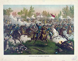 Battle of Cedar Creek battle of the American Civil War in northern Virginia, 19 October 1864