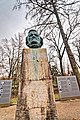 Bayreuth - Grüner Hügel - Richard Wagner Park - Richard Wagner Statue 1986 by Arno Breker 2.jpg