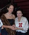 Beata Maria Lasecka z wdową po Prezydencie Ryszardzie Kaczorowskim, Karoliną Kaczorowską.jpg