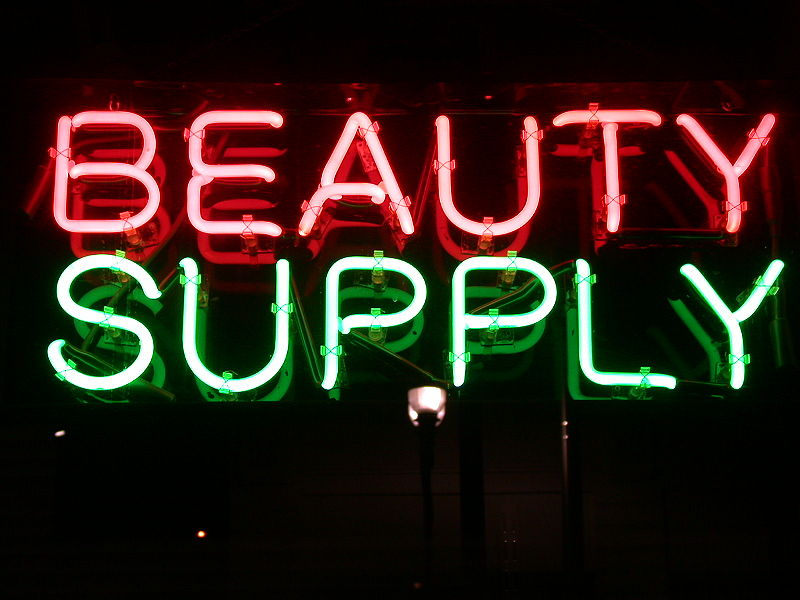 File:Beauty Supply Neon Sign.jpg