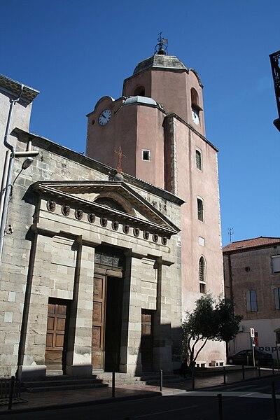 Bédarieux, Hérault - église Saint-Alexandre.