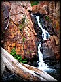 Beehive Falls ~ Trickling down the last drop.JPG