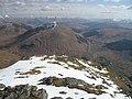 Beinn Dòrain, top of the south ridge - geograph.org.uk - 780848.jpg