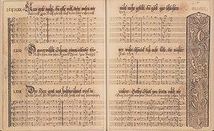 Conrad Beissel - Ephrata Community Manuscript hymnal, 1746