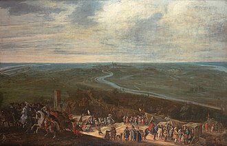 Anglo-Spanish War (1625–1630) - The siege of 's-hertogenbosch in 1629, by Pieter Snayers