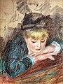Bemberg Fondation Toulouse - Portrait de jeune fille - Pierre-Auguste Renoir pastel 1879 56x43 Inv.2156.jpg