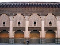 Zocos y medersa de Marrakech