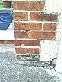 Benchmark on ^69 Church Cowley Road - geograph.org.uk - 2114425.jpg