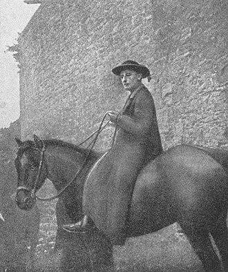 Pope Benedict XV - Archbishop della Chiesa on pastoral visit in 1910