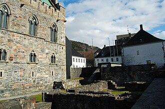 Olav Nilsson -  Bergenhus Fortress in Bergen