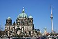 Berlin Cathedral and TV tower.jpg