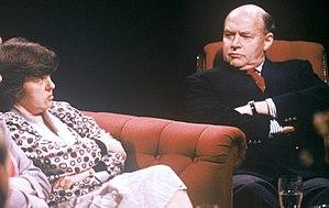 Bernadette Devlin McAliskey - With Anthony Farrar-Hockley on After Dark in 1988