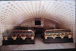 Bernadotte Family crypt Riddarholm Church 2013 Stockholm